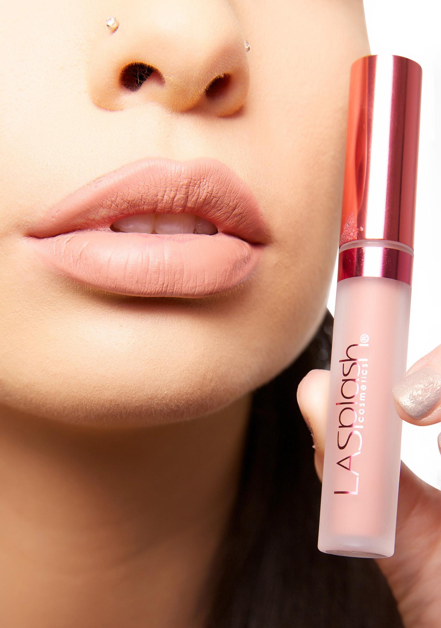 LA Splash Exposed Velvet-Matte Liquid Lipstick