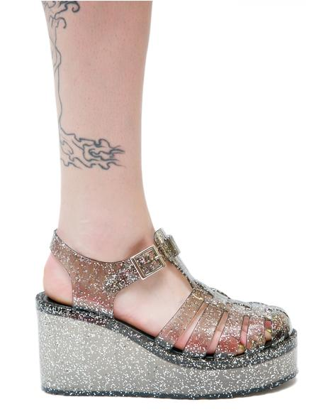 Gleam 'N Glitz Jelly Platforms