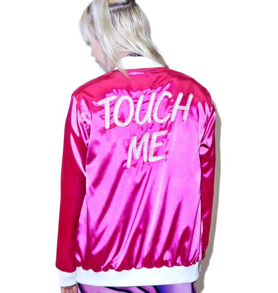 Local Heroes Touch Me Satin Jacket