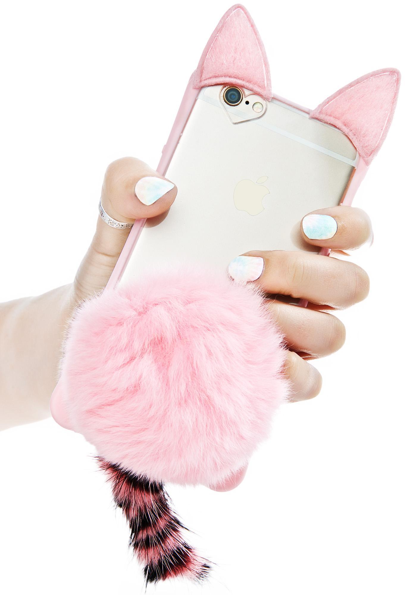 Pinky Fluff Ball iPhone 6/6+ Case
