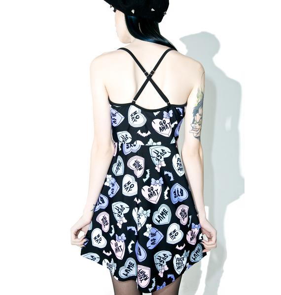 Creepy Luv Hearts Dress