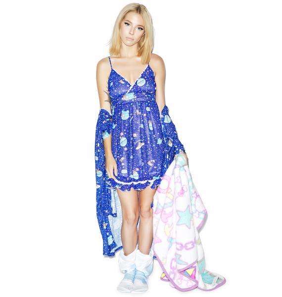 Japan L.A. Rilakkuma In Spaaace! Babydoll Dress