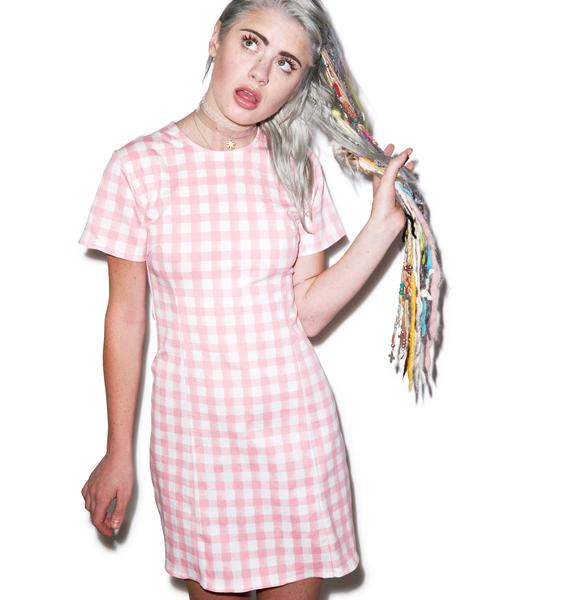 Motel Alby Short Sleeve Dress