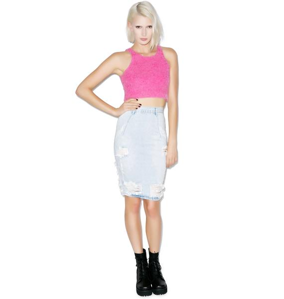 One Teaspoon Brando Freelove Pencil Skirt