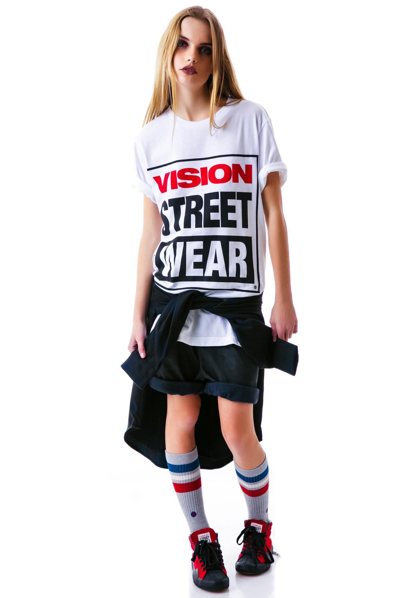 Vision Street Wear Vision Street Wear Logo Tee