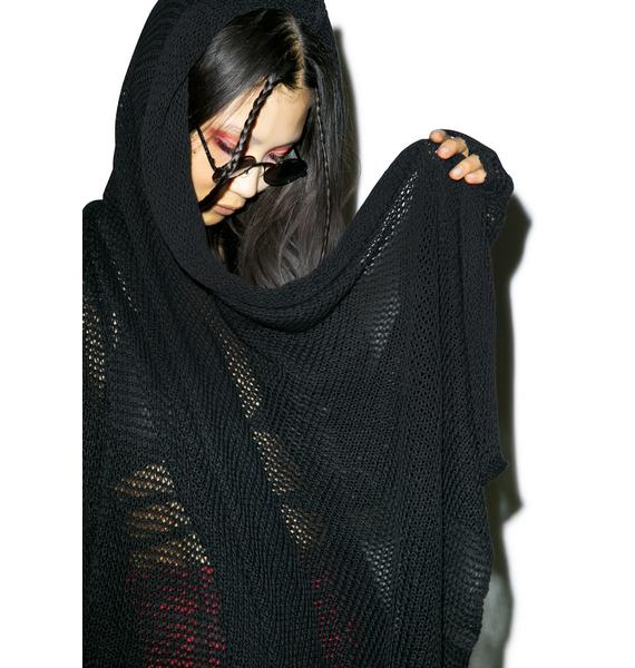 Widow The Kiss Of Death Cardigan