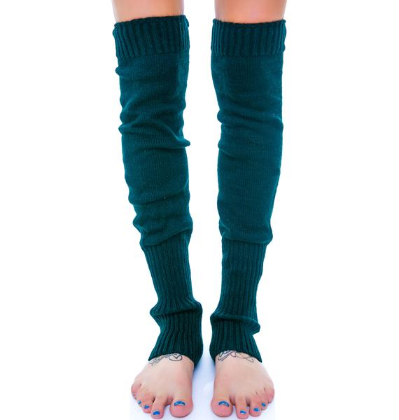 Prep School Knit Leg Warmers