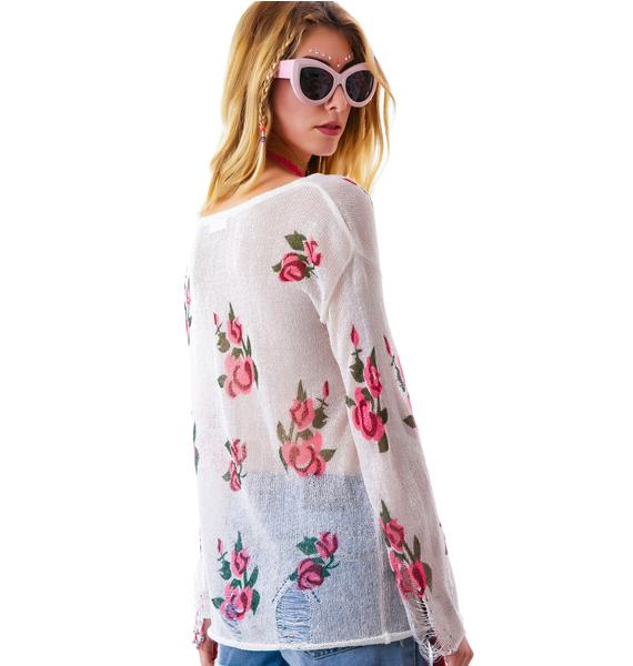 Like Roses Destroyed Sweater