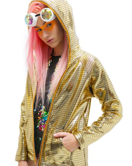 Glitzy Electro Light-Up Hoodie