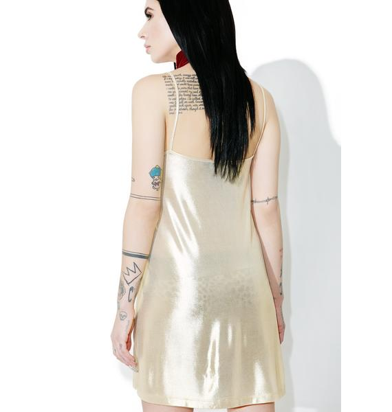 Motel Gold Londe Slip Dress