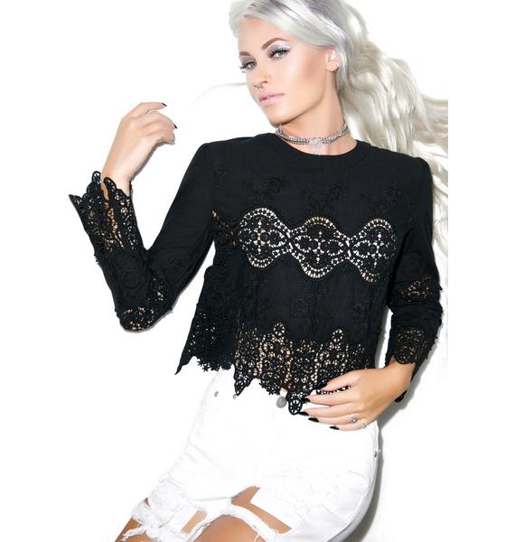 See It Through Lace Top