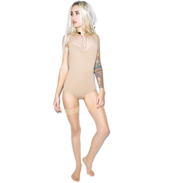 For Love & Lemons Show Off Solid Bodysuit