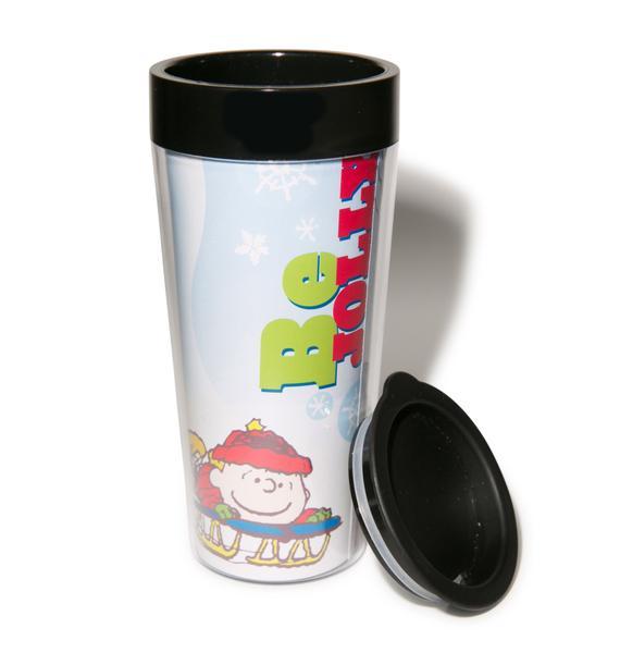 Peanuts Be Merry Travel Mug
