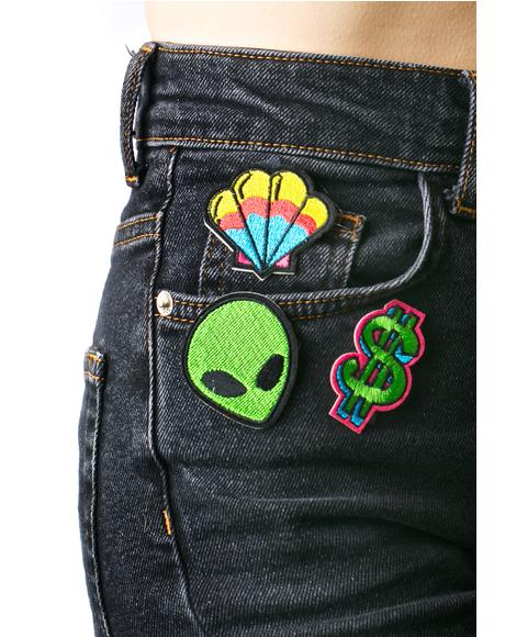 Dollar Sign Patch