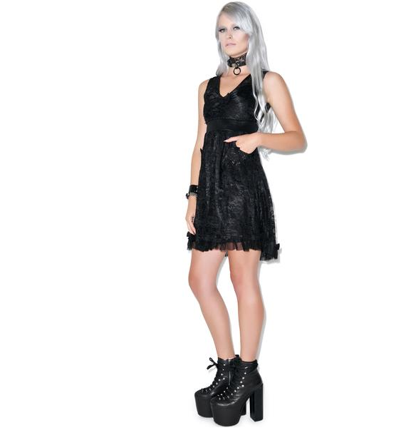 Sourpuss Clothing Tear Up The Town Dress