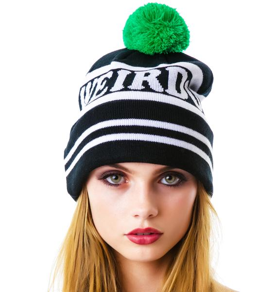 Lazy Oaf Weirdo Bobble Hat