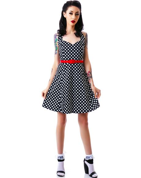 Flozzy Polka Dot Dress