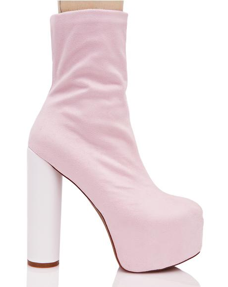 Blush Jessa Chunky Boots