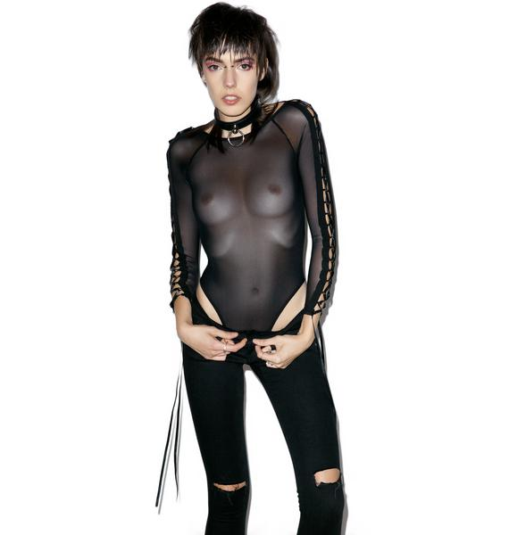 The Trash Rack Cross Over Bodysuit