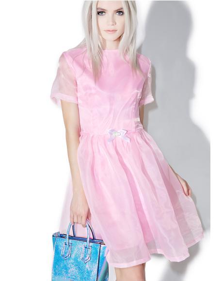 Pearl Prism Flare Dress
