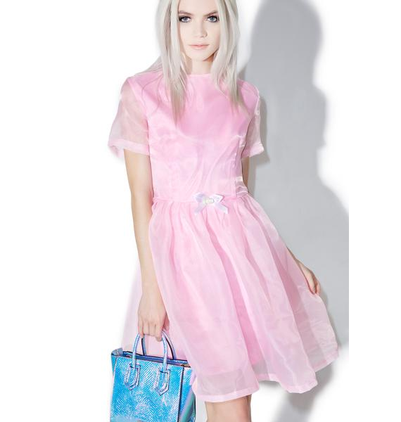 Melonhopper Pearl Prism Flare Dress