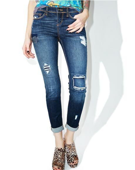 Hangin' Tough Distressed Jeans
