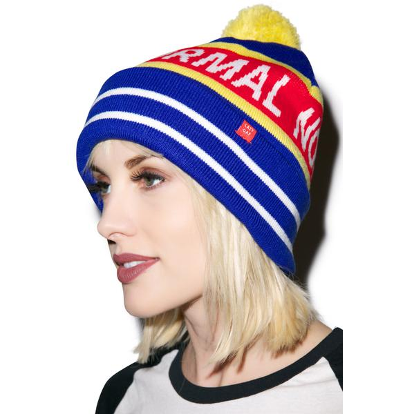 Lazy Oaf Not Normal Bobble Hat
