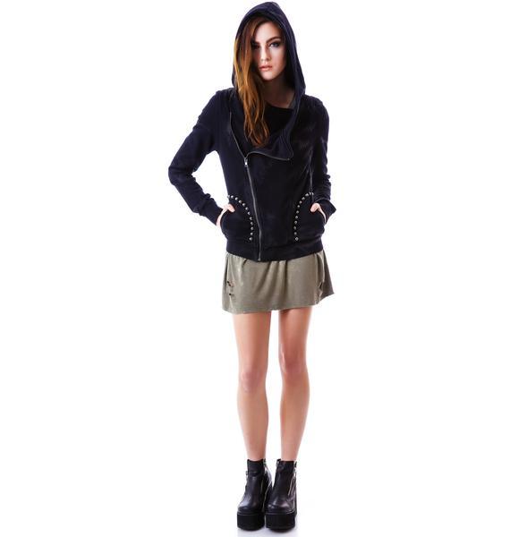 Doomsday Studded Zip Jacket