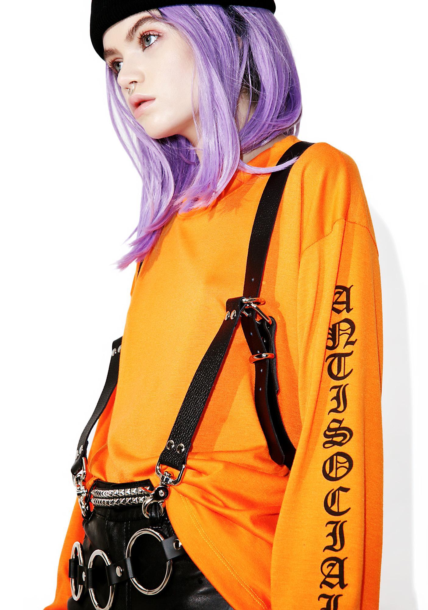 Club Exx Lovecraftian Harness Suspenders
