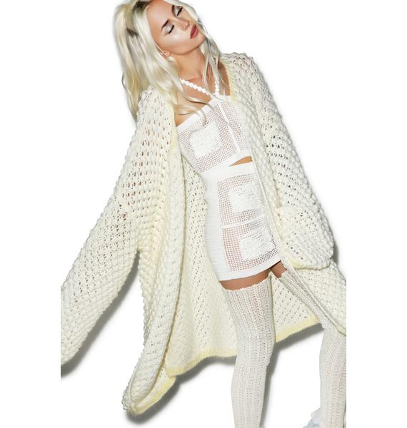 Maria ke Fisherman Grand Oversize Knit Cardigan