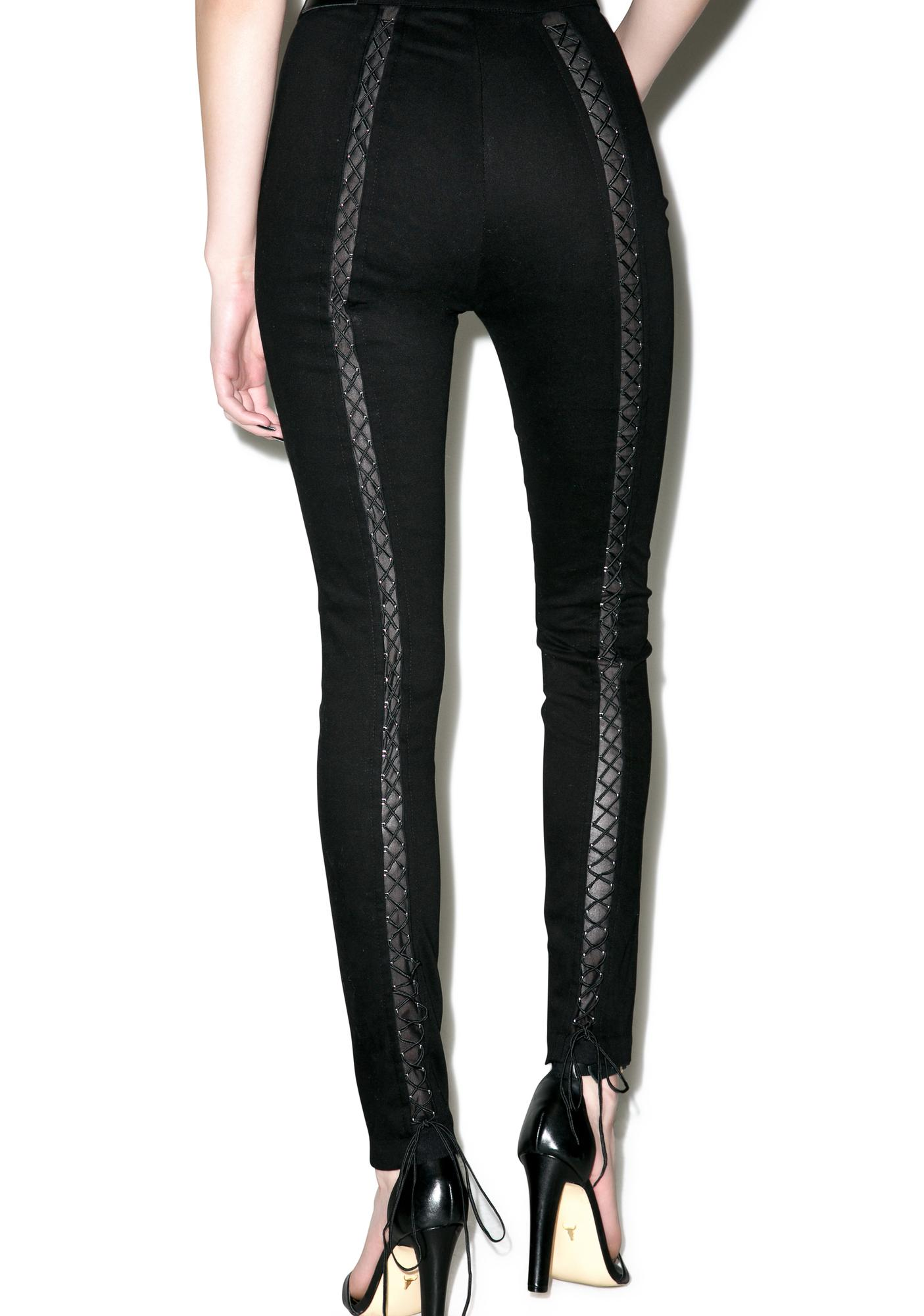 Widow Batcave Stretch Skinny Jeans