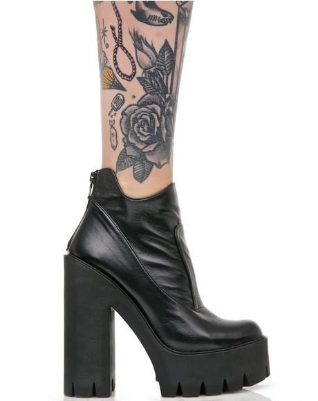 Leather Nevermind Boots