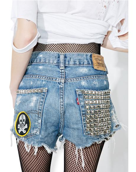 Vintage Deadstock Hersher Cutoff Shorts