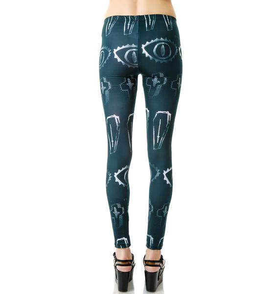 Civil Clothing Death Is Coming Leggings
