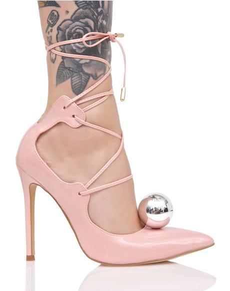 Vida Lace-Up Heels