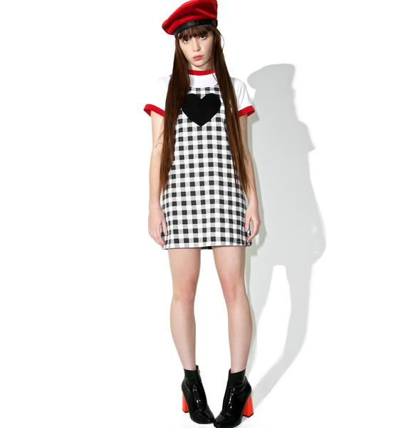 Lazy Oaf Check Your Heart Pinafore