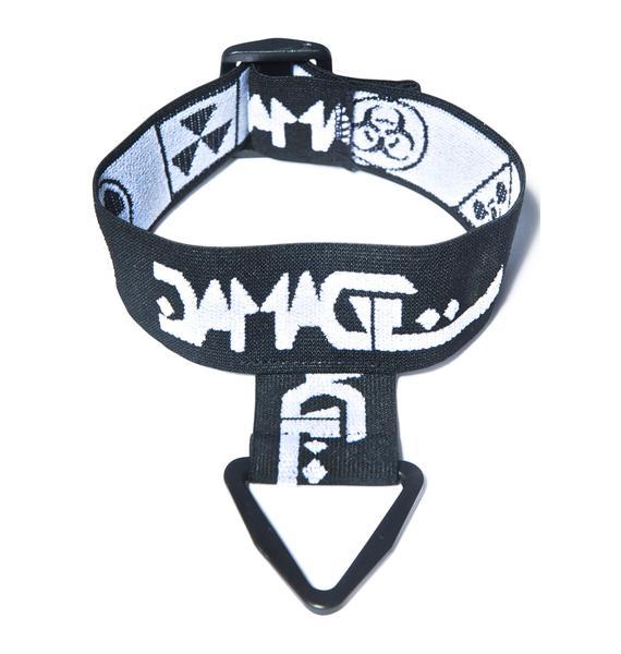DAMAGE Logo Choker