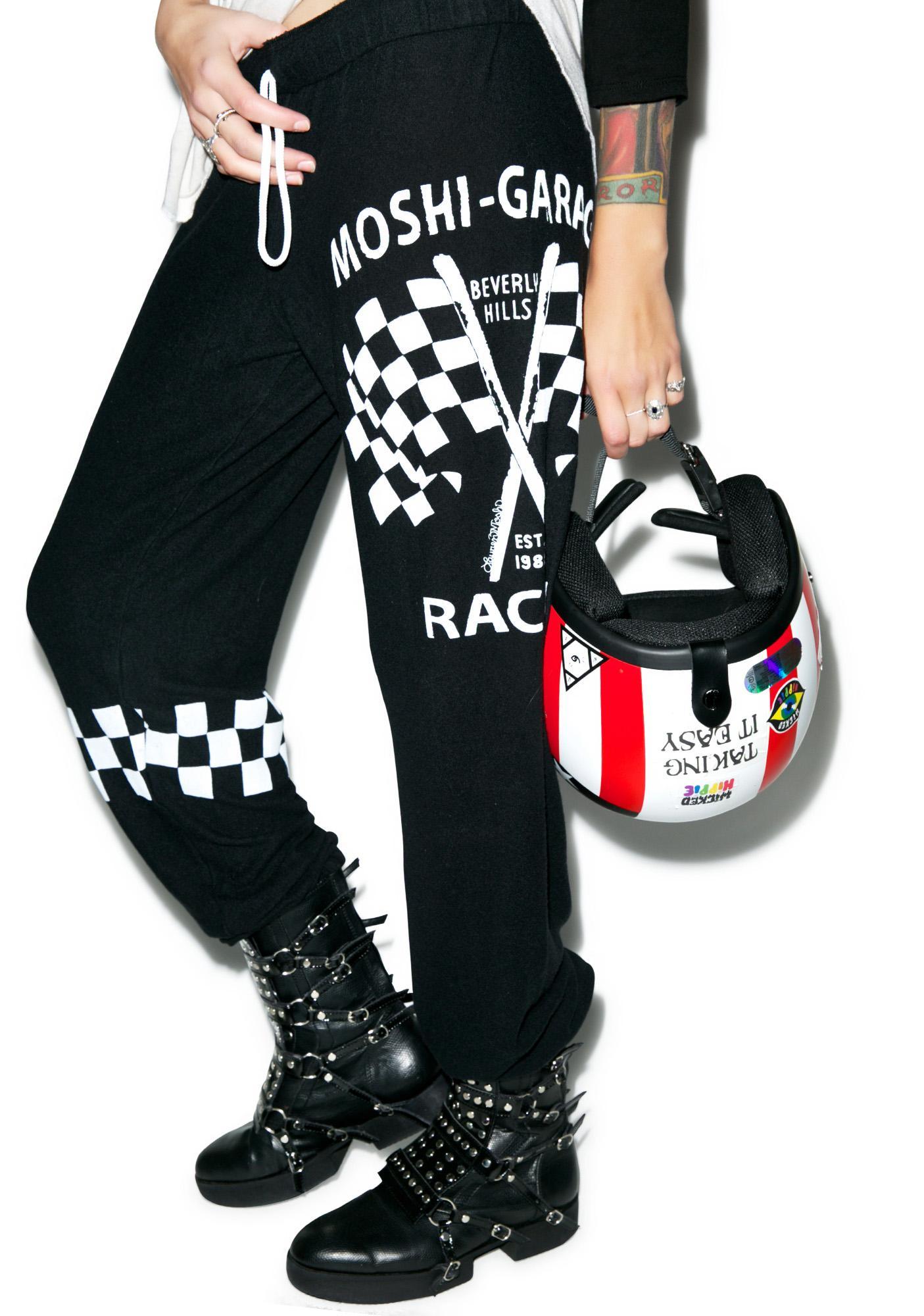 Lauren Moshi Tanzy Moshi Racing Sweatpants