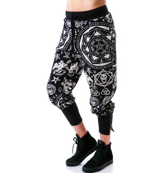 Killstar Occult Sweatpants