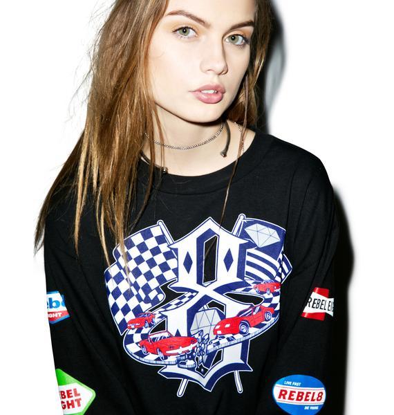 Rebel8 Speedway Longsleeve Tee
