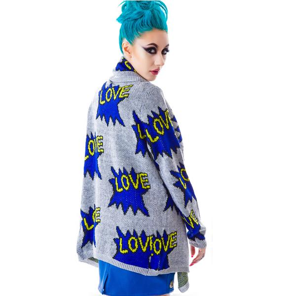 True Love Draped Sweater