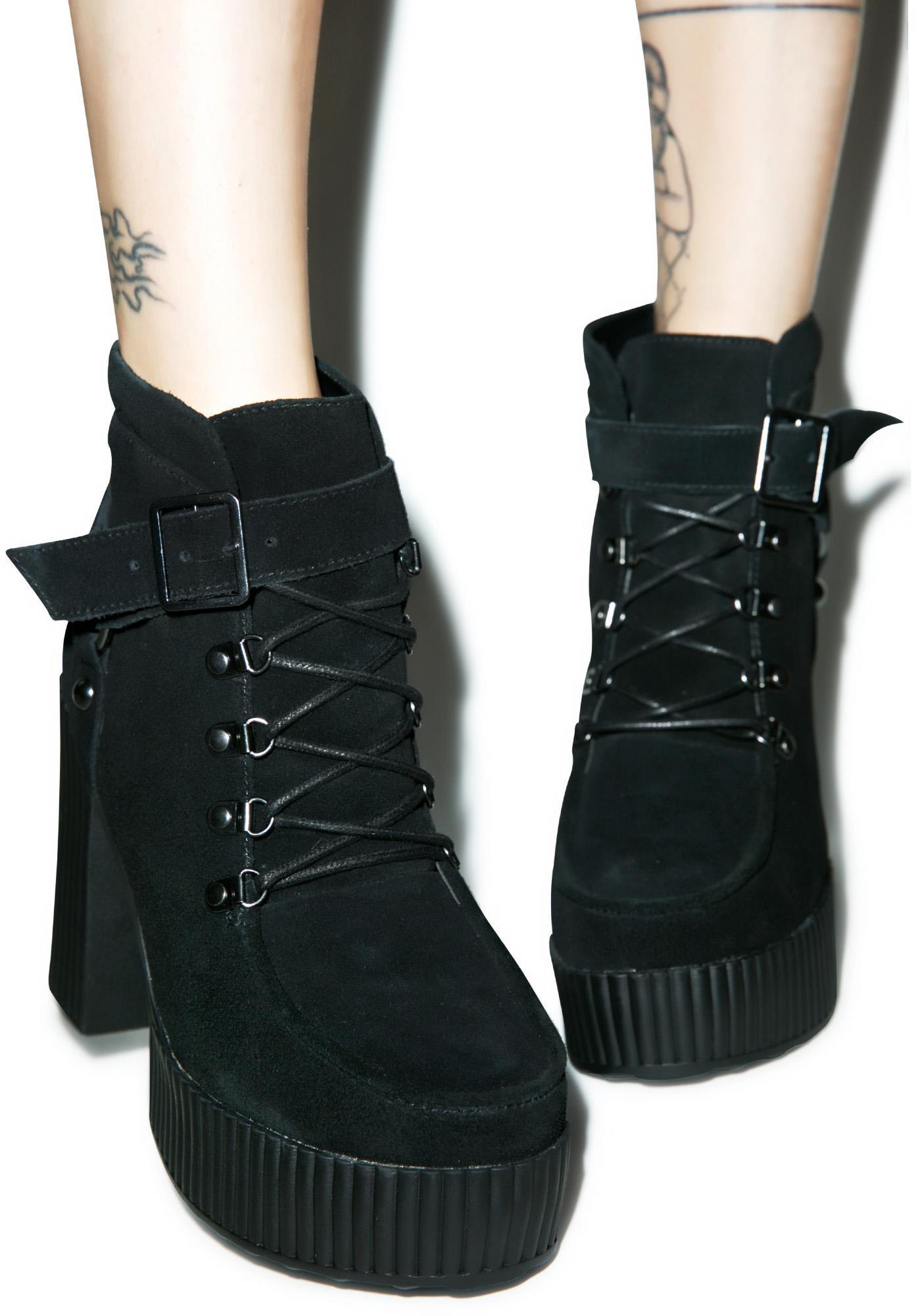T.U.K. Buckle Strap Yuni Boots