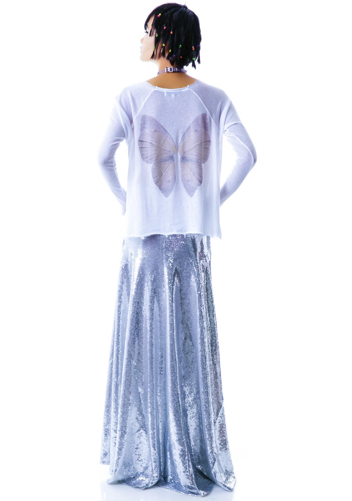 Wildfox Couture Fairy Wings Cozy Raglan