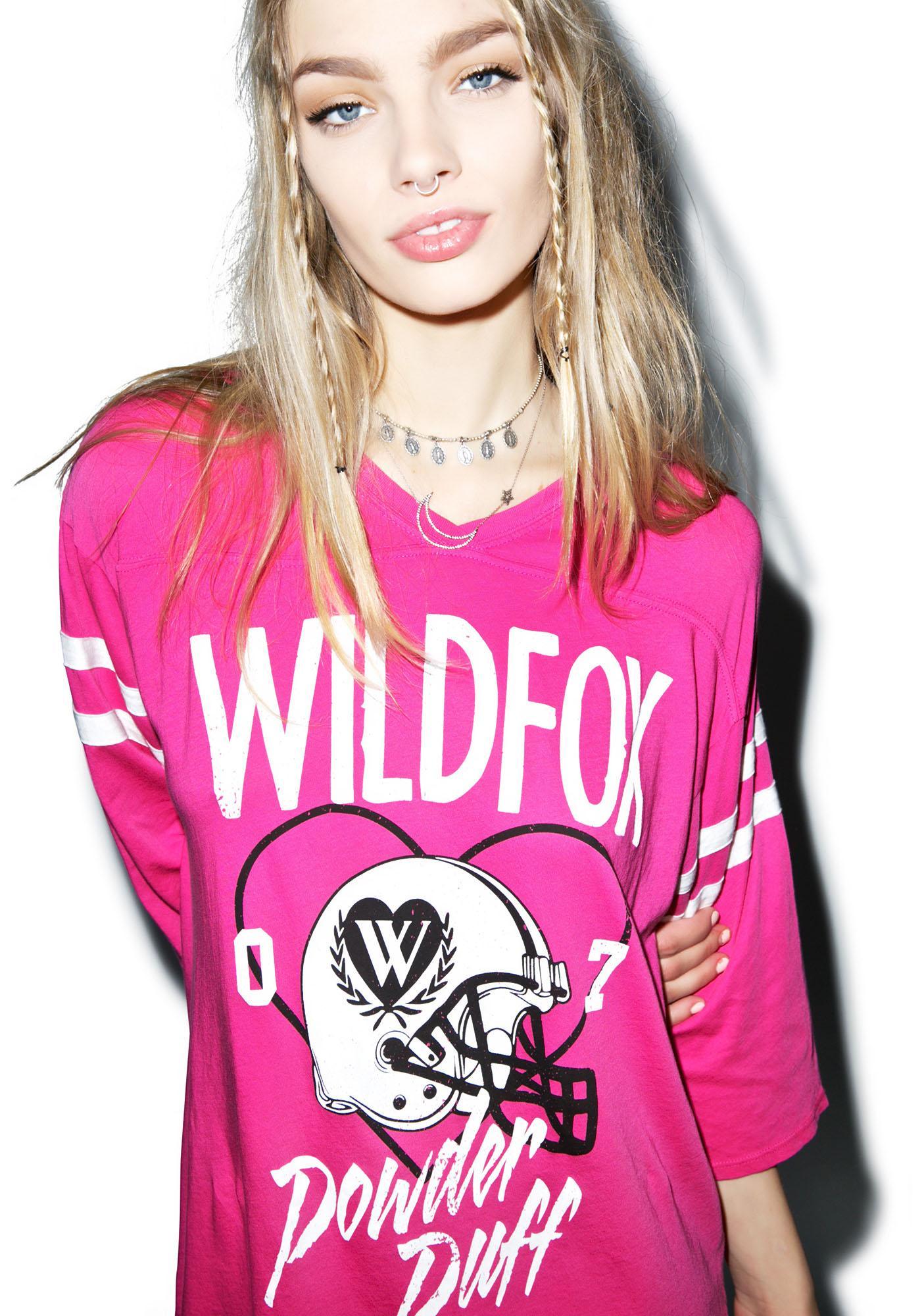 Wildfox Couture Powder Puff Jersey Tunic