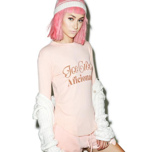 Wildfox Couture Ice Cream Aficionado Girlfriends Thermal