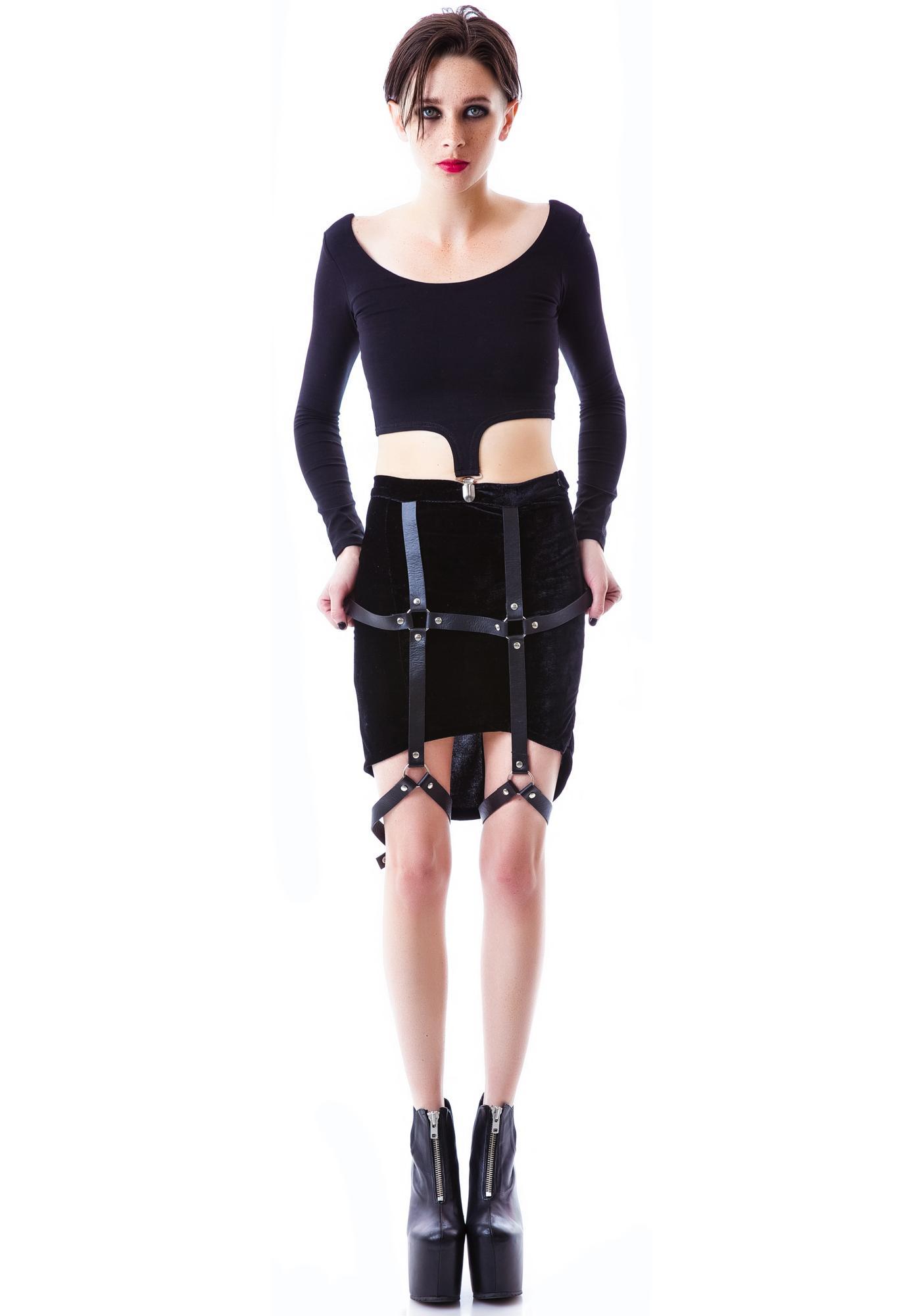UNIF Harness Skirt