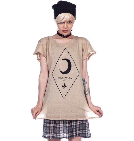 Wildfox Couture Moon Potion Hippie Crew Tee