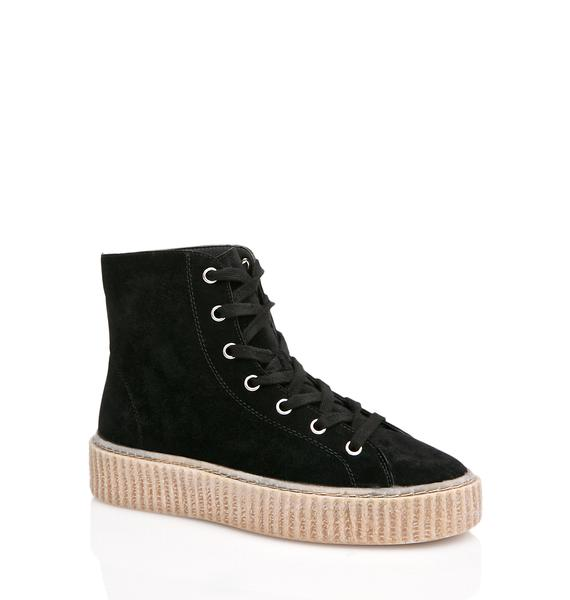 Public Desire Iyla Hi Top Creeper Sneakers