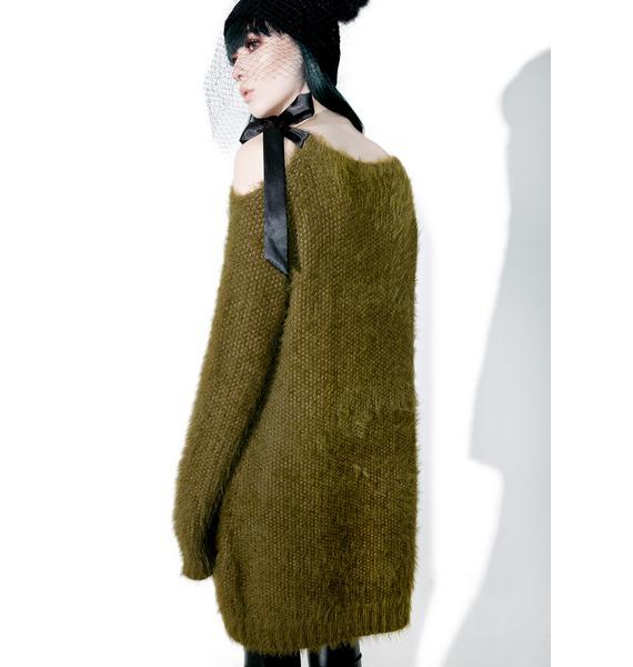 Glamorous Pursuit Fuzzy Sweater