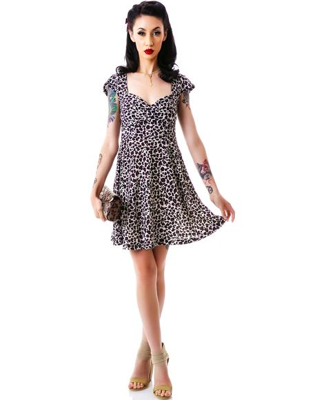 Vavavoom Leopard Dress